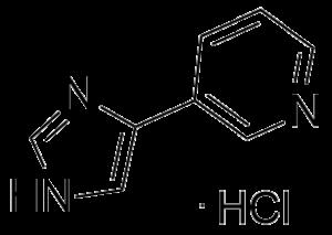 CAS 219121-65-0, 3-(1H-imidazol-4-yl)pyridine,hydrochoride(1:1)