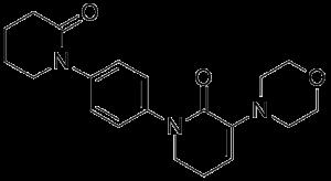 CAS 545445-44-1, 3-morpholino-1-(4-(2-oxopiperidin-1-yl)phenyl)-5,6-dihydropyridin-2(1H)-one