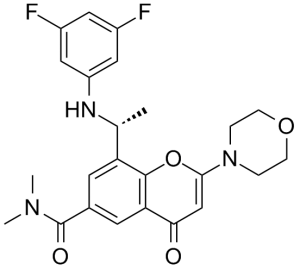 Massive Selection for PQR 530 - AZD8186 – Caeruleum